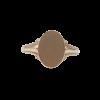 Engravable Gold Signat Ring